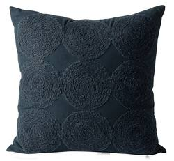 Buy luna wool embroidered cushion cover in NZ New Zealand.