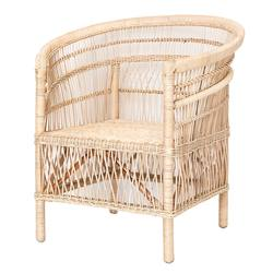 Buy Malawi single cane chair natural in NZ New Zealand.