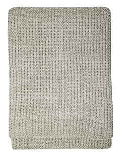 Buy Moss stitch throw natural in NZ New Zealand.