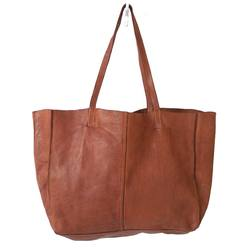 JuJu & Co Monterey leather tote bag