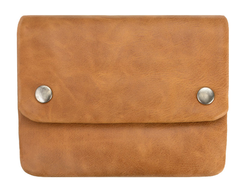 Buy Norma leather purse tan in NZ New Zealand.