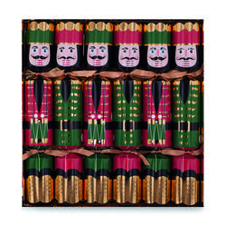 Buy Nutcracker Christmas crackers (6) in NZ New Zealand.