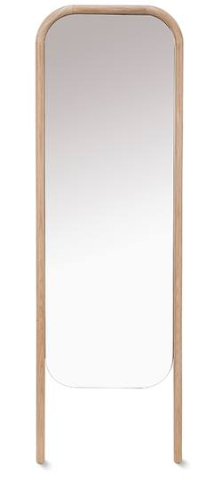 Buy Oak free standing mirror in NZ New Zealand.
