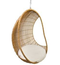 Hanging chair open sided
