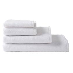 Organic cotton towel range white
