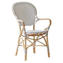 Buy Outdoor arm chair with rattan frame in NZ New Zealand.