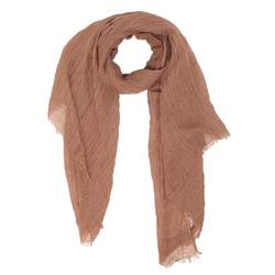 Buy Linen oversized scarf latte in NZ New Zealand.