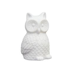 Buy Small porcelain led owl light in NZ New Zealand.