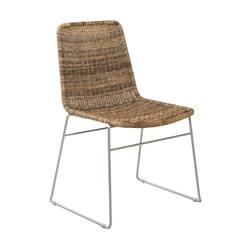 Buy Bistro rattan dining chair natural in NZ New Zealand.