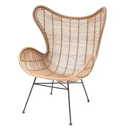 Buy Rattan wing chair in NZ New Zealand.