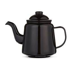 Buy Black enamel teapot in NZ New Zealand.
