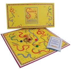 Buy Retro snakes and ladders game in NZ New Zealand.
