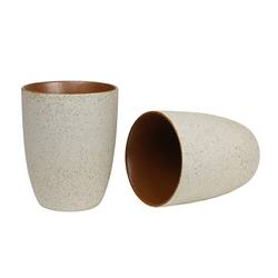 Buy Stoneware latte cups set of 2 in NZ New Zealand.