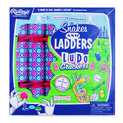 Buy Ridley's Snakes & Ladders ludo crackers (6) in NZ New Zealand.