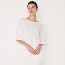 Buy Assembly Label boxy linen top in NZ New Zealand.