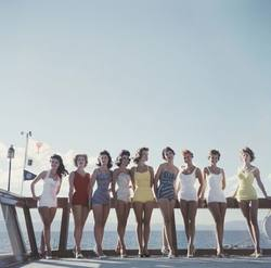 Slim Aarons 'Lake Tahoe Ladies' photographic print