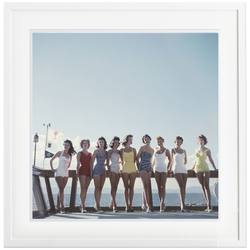 Slim Aarons 'Lake Tahoe Ladies' framed print