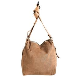 JuJu & Co perforated leather slouchy bag