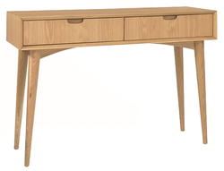 Scandi style console table