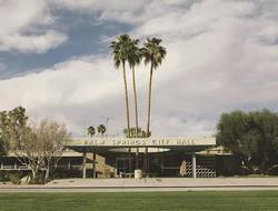 Buy Sean and Kat 'Palm Springs City Hall' photographic print in NZ New Zealand.