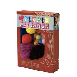 Buy Seedling Design your own pom pom key ring in NZ New Zealand.