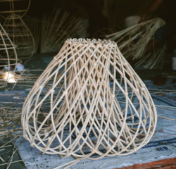 Buy Send off rattan light shade in NZ New Zealand.