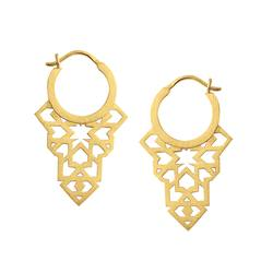 Linda Tahija Seventh Star earrings