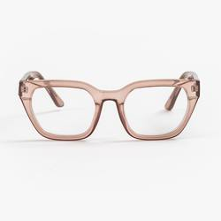 Buy Ava beige transparent reading glasses in NZ New Zealand.