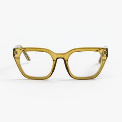 Buy Ava olive transparent reading glasses in NZ New Zealand.