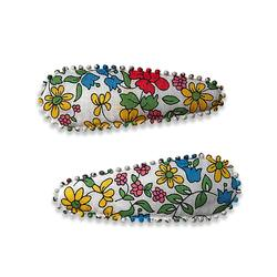 Buy Liberty fabric hair clips Shani in NZ New Zealand.