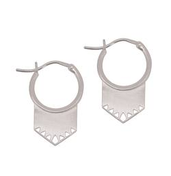 Linda Tahija Shield earrings