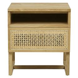Buy Woven willow bedside cabinet in NZ New Zealand.