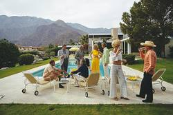 Buy Slim Aarons 'Desert House Party' photographic print in NZ New Zealand.
