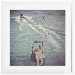 Buy Slim Aarons 'Cannes Watersports' framed print in NZ New Zealand.
