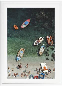 Buy Slim Aarons 'Conca dei Marini' framed print in NZ New Zealand.
