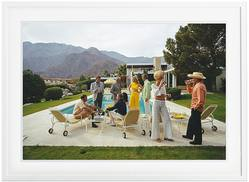 Slim Aarons 'Desert House Party' framed print