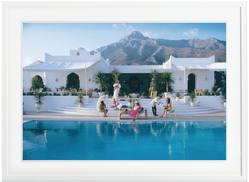 Buy Slim Aarons 'El Venero' framed print in NZ New Zealand.