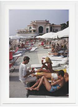 Buy Slim Aarons 'Hotel Du Cap' framed print in NZ New Zealand.