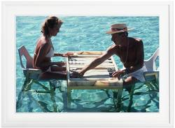 Buy Slim Aarons 'Keep Your Cool' framed print in NZ New Zealand.