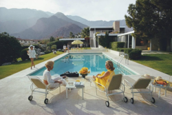 Slim Aarons 'Poolside Gossip' photographic print