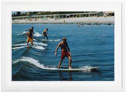 Buy Slim Aarons 'Surfing Brothers' framed print in NZ New Zealand.