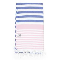 Buy Sofia Turkish towel denim & pale pink in NZ New Zealand.