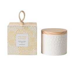 Soy candle paw paw & honey