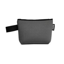 Neoprene stash pouch small charcoal