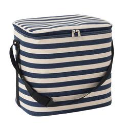 Cooler bag striped