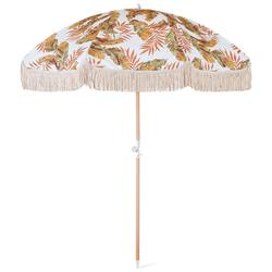 Bay leaf sun umbrella