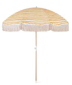 Sun Ray stripe beach umbrella