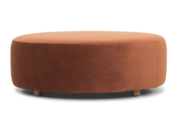 Buy Large round drum ottoman in NZ New Zealand.