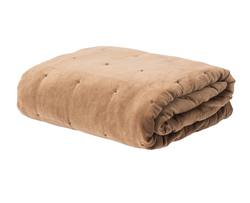 Buy Velvet quilted bedspread toast in NZ New Zealand.