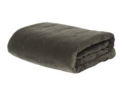 Buy Velvet quilted bedspread nori in NZ New Zealand.